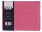 Grandluxe Pink Etcetra Sketchbook, Medium, 10cm x 15cm