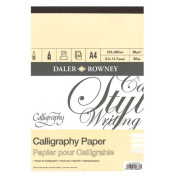 Daler Rowney A4 Calligraphy Pad