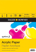 Daler Rowney System 3 Acrylic Pad A4