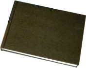 Hahnemuhle Sketch Book D & S, 140gsm Book, Black with stitched binding, A4 Landscape