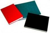 Hahnemuhle Sketch Book D & S, 140gsm Book, Red with stitched binding, A4 Landscape