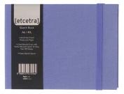 Grandluxe Blue Etcetra Sketchbook, Medium, 10cm x 15cm