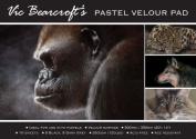 Vic Bearcroft's Pastel Velour Pad - Regular Black and Dark Grey