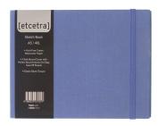 Grandluxe Blue Etcetra Sketchbook, Large, 15cm x 21cm