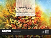Jeremy Ford Bockingford Watercolour Block, 425gsm, Quarter Imperial, NOT