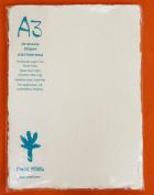 KHADI PAPER WHITE RAG PAPER (20 SHEETS) PACKS A3-2W 320 GSM 30cm X 42cm