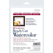 3 Pack 13cm x 18cm Hot Press Ready Cut Watercolour Sheet Pack (Product Catalogue
