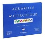 Clairefontaine Watercolour 300g Block 42x56cm CLOUD EFFECT - 15 sheets