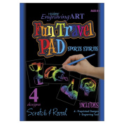 Rainbow Engraving Art Fun Travel Pads-Sports Stories