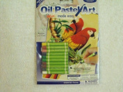 Oil Pastel Art ~ Mini Made Easy Parrots 13cm x 18cm