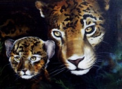 Bob Ross' Jaguar & Baby Wildlife Instructional Booklet