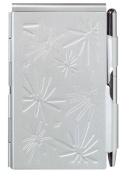Wellspring Flip Notes sleek silver