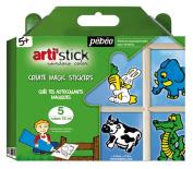 Arti'Stick Animals Starter Set of 5 Assorted 75ml Tubes