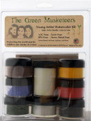The Green Musketeer Young Artist Watercolour Kit