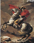 W & Hstore 13409 DIY Paint By Number Kit,Napoleon,50cm x 41cm