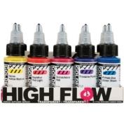 Golden High Flow Acrylic Transpr 10 Colour Set
