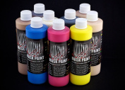 The Monster Makers Latex Mask Paint 9 Colour Kit