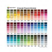 Magic Palette Artists Colour Value Guide
