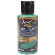 Blue Green Light Deco Art Traditions Artist Acrylic Paint 90ml Bottle