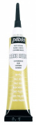 Pebeo Vitrail Stained Glass Effect Cerne Relief 20-Millilitre Tube with Nozzle , Pale Gold