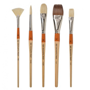 R & F Handmade Paints Encaustic Artist Brush Set
