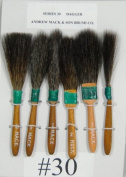 SET OF ALL 6 #30 BRUSHES 00,0,1,2,3,4 SIZES