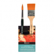 Global Art Materials Escoda Nicholas Simmons Watercolour Brush Set No.2