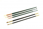 Silver Brush JL-7105 Johnnie Liliedahl Basic Brush Set, 5 Per Pack