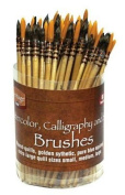 Watercolour Calligraphy and Silk Brush Assortment