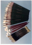 Silver Brush JHS-505 John Howard Sanden Portrait Professional Brush Set, 47 Per Pack