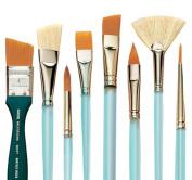 Size 12 Precision Point Round Susan Scheewe Artist Paint Brush By Martin F Weber