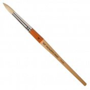 R & F Handmade Paints Encaustic Round Paintbrush, No.10