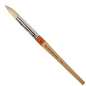 R & F Handmade Paints Encaustic Round Paintbrush, No.20