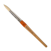R & F Handmade Paints Encaustic Round Paintbrush, No.16