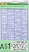 Helix Lettering Guide 3.2cm . 3.2cm . guide