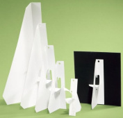 Lineco White Self-Stick Easel Back (23cm ) 25 Per Package