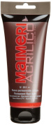 Maimeri 0924251 Acrilico Permanent Red Light Acrylic Artists' Paint, 200-ml