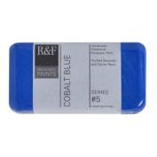 R & F Encaustic 40ml Paint, Cobalt Blue