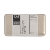 R & F Encaustic 40ml Paint, Iridescent Silver