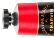 Charvin Extra-Fine Artists' Acrylic Paints 60 ml Paint Tube - Cadmium Red Deep Genuine