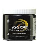 Chroma Inc. Aurora Washable Finger Paint black [PACK OF 4 ]