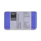 R & F Encaustic 40ml Paint, French Mauve Bluish
