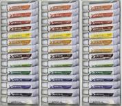 LOT 3 - 14 colours ACRYLIC PAINTS 12 ml each Rainbow Pigments - ARTIST PAINTING