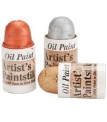 Cedar Canyon Textiles Mini Iridescent Artist's Paintstiks 3/Pkg.-Metallic-Gold/Silver/Copper