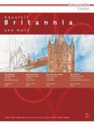 Hahnemuhle Britannia- HAHNEMUHLE Britannia Watercolour Block 300 g/m2 140lbs MATT 30 x 40cm