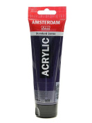 Amsterdam Standard Series Acrylic Paint permanent blue violet 120 ml [PACK OF 3 ]