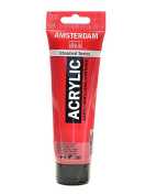Amsterdam Standard Series Acrylic Paint naphthol red deep 120 ml [PACK OF 3 ]