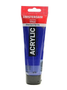 Amsterdam Standard Series Acrylic Paint phthalo blue 120 ml [PACK OF 3 ]