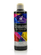 Chroma Inc. ChromaTemp Pearlescent Tempera Paint black 250 ml [PACK OF 4 ]