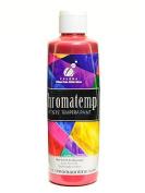 Chroma Inc. ChromaTemp Pearlescent Tempera Paint red 250 ml [PACK OF 4 ]